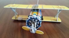 Slot together clockwork aircraft ~ Product Review ~ Crochet Addict UK ~ Check out the #SlotTogether #Clockwork #Aircraft ~ http://www.crochetaddictuk.com/2015/03/slot-together-clockwork-aircraft.html