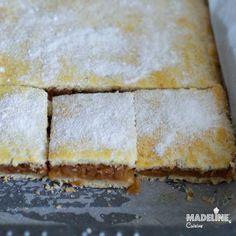 Placinta cu mere si aluat fraged/ Apple pie with tender homemade crust - Madeline's Cuisine Romanian Food, Romanian Recipes, Cake Recipes, Dessert Recipes, Apple Pie, Bakery, Deserts, Food And Drink, Sweets