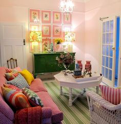 Love this girlie room