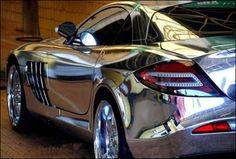 Chrome car