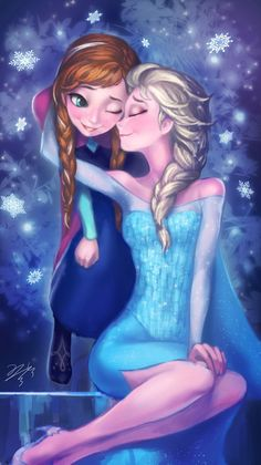 Frozen - Queen Elsa x Princess Anna - Elsanna Frozen Disney, Walt Disney, Anna Frozen, Anna Y Elsa, Frozen Love, Disney Pins, Disney Magic, Frozen Queen, Frozen 2013