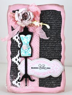 For the love of life: JustRite Papercrafts Ooh La La French Frills and Spellbinders French Frills dies.