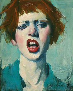 So in love with the attitude in this painting by Malcolm Liepke 'Sneer' from @pontonegallery  via BEAUTIFUL BIZARRE MAGAZINE OFFICIAL INSTAGRAM - Celebrity  Fashion  Haute Couture  Advertising  Culture  Beauty  Editorial Photography  Magazine Covers  Supermodels  Runway Models