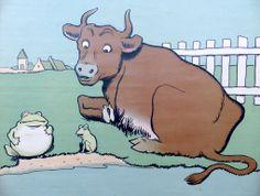 1000 images about fables la fontaine on pinterest pots - Image la grenouille et le boeuf ...