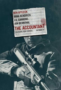 CINEMA unickShak: THE ACCOUNTANT - cinemas USA Premiere: 14th October 2016