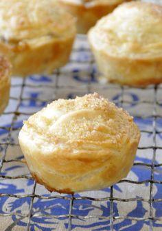 Mini tourtes aux pommesnoix de pecan vanille