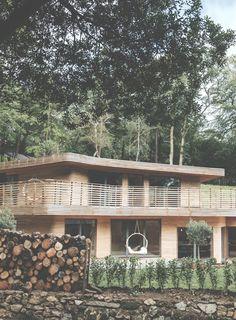Tom Raffield eco woodland house - Grand Designs