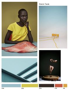 Color inspiration No.18 via Eclectic Trends #ColorTrends #moodboard