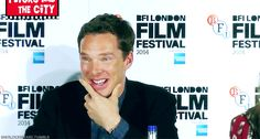 Ben at TIG Press conference LFF 8th October 2014<<< gigglebatch strikes again.