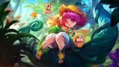 Chang'e Floral Elfo by makinig on DeviantArt Mobile Legend Wallpaper, Hero Wallpaper, Bang Bang, Lunar Magic, Moba Legends, The Legend Of Heroes, Best Hero, League Of Legends, Mobiles