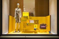 "HERMÈS, Switzerland, ""Curiosity Cabinet"", by Millington Associates,pinned by Ton van der Veer Retail Windows, Store Windows, Design Blog, Life Design, Set Design, Visual Merchandising, Curiosity Cabinet, Hermes Window, Store Window Displays"