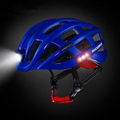 ✅ Be visible in any situation ✅ See yourself better in dark conditions ✅ High-Quality components, waterproof ✅ adjustable to any head size, comfortable fit 🔥 40% Off Today🔥 Mtb Downhill, Cycling Helmet, Cycling Bikes, Road Cycling, Mtb Bicycle, Bicycle Helmet, Bike Helmets, Bicycle Safety, Helmet Light