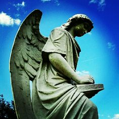 #Natchez #cemetery #turningangel #Mississippi - @christiedorsa- #webstagram