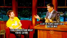 Thank you, Chris, for expressing the thought of every Whovian :)