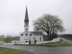 St Eugene's RC Church, Glenknock, Newtownstewart by Kenneth  Allen