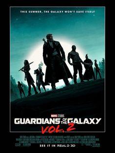 Guardiões da Galáxia Vol. 2 | A galáxia não se salvará sozinha em novo pôster | Notícia | Omelete