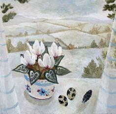 Sarah Bowman Naive Art, Winter Scenes, Acrylics, Painters, Drawing Ideas, Still Life, Card Ideas, Scenery, Illustration Art