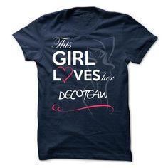DECOTEAU -This Girl Love her DECOTEAU  - #tshirt makeover #sweatshirt fashion. SECURE CHECKOUT => https://www.sunfrog.com/Valentines/DECOTEAU-This-Girl-Love-her-DECOTEAU-.html?68278