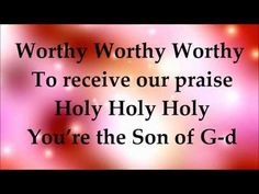 Worthy - Paul Wilbur - Lyrics - YouTube