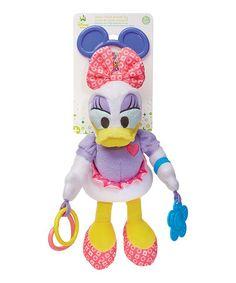 Daisy Duck Developmental Hanging Toy #zulily #zulilyfinds