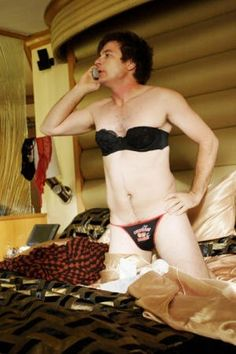 Jason Bateman in bra and panties...interestingly enough he pulls it off quite well.