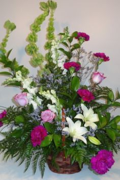 Order flowers online from your florist in St. Neville & Sons, offers fresh flowers and hand delivery right to your door in St. Order Flowers Online, Flower Delivery, Fresh Flowers, Plants, Flora, Plant