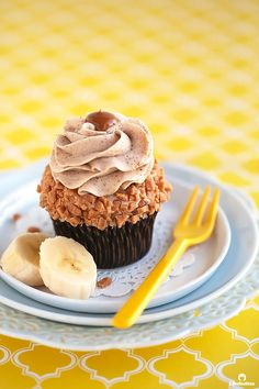Moist and tender banana cupcakes bursting with banana flavor, without being gummy or dense!  Pipable and not too sweet browned butter cinnamon cream cheese frosting, makes them extra special. This will most likely become your go-to banana cake recipe! I'm going bananas for bananas lately!  So much so that my husband so innocently asked me if...Read More »
