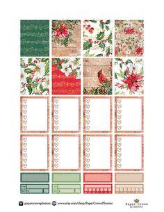 JOYFUL Weekly Planner Sticker Kit/Printable Planner Stickers