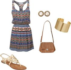 summer-neutral, created by ehargrove on Polyvore