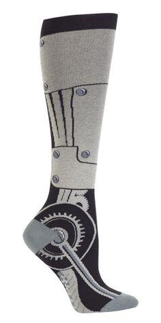 Toe-tal Recall Knee High Socks from The Sock Drawer