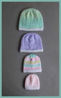 Couldn't be simpler . a cute fuss-free baby hat for preemie babies Topaz Premature Baby Hats Large Preemie. Couldn't be simpler . a cute fuss-free baby hat for preemie babies Topaz Premature Baby Hats Large Preemie. Baby Hat Knitting Patterns Free, Hat Patterns To Sew, Baby Hats Knitting, Crochet Baby Hats, Free Knitting, Knitted Hats, Crochet Patterns, Baby Patterns, Charity Knitting