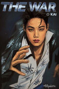 [SCAN] KAI for #EXO #THEWAR #KOKOBOP Album
