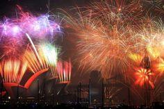EN IMAGES. Tour du monde des festivités du Nouvel An 2015