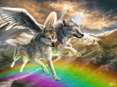 Over the rainbow by WolfRoad on DeviantArt