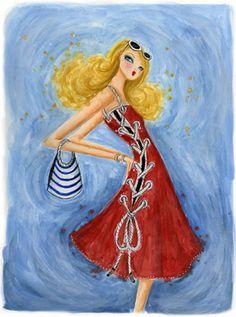 Bella Pilar #Illustration #Artistic