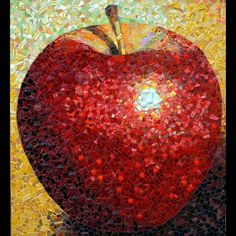 Wow! mosaic apple. Lots of depth and the highlight is entirely believable.