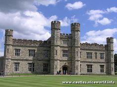 Leeds castle, West Yorkshire, England