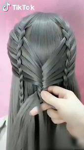 Super easy to try a new ! H today to find more hairstyle videos. Also you can post videos to show your unique hairstyles! Life's moving fast, so make every second count.Tremendous straightforward to attempt a brand new ! Unique Hairstyles, Girl Hairstyles, Braided Hairstyles, School Hairstyles, Popular Hairstyles, Hairstyles Videos, Hair Day, New Hair, Curly Hair Styles