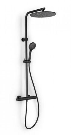 ROUND 300 ELECTRONIC BLACK - X2O De voordeligste badkamer specialist Bathroom Design Inspiration, Shower, House, Home Decor, Bathrooms, Lingerie, Studio, Ideas, Bathroom