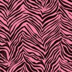 Cool Kids Ikat Zebra Wallpaper, Strawbery/Licorice