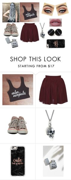 """Lucillia Cubin"" by xxiceprincessxx ❤ liked on Polyvore featuring Hearts & Bows, Black Pearl, Casetify and Urban Outfitters"