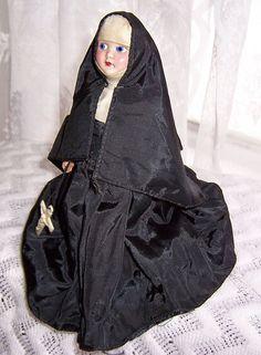 Vintage Nun Doll 1950s
