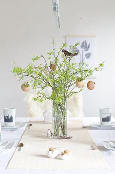 Easter Decoration DIY Scandinavian Nordic Interior Spring