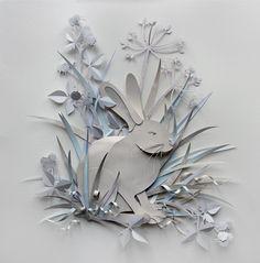 Волшебница бумажной пластики Helen Musselwhite — Бумажный БУМ