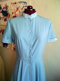 The notebook blue dress