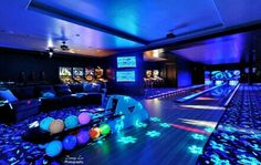 How cool would it be to have your own bowling alley in your house?