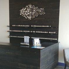 Our wall planks are made from perfectly-preserved timber that sank to the bed of the Penobscot River more than a century ago. Now you can give any room the look of modern, rustic elegance knowing there's a rich story behind it. Retaining Wall Steps, Black Accent Walls, Peel And Stick Wood, Herringbone Wood Floor, Garage Interior, Wooden Walls, Wall Wood, Ship Lap Walls, Rustic Elegance