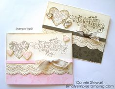 FLASH CARDS 2.0 - Vintage Valentine - Video No. 4 | Simply Simple Stamping