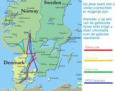 veerdiensten noorwegen kaart routes auto