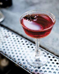 Stiletta: tequila, sweet vermouth, Campari